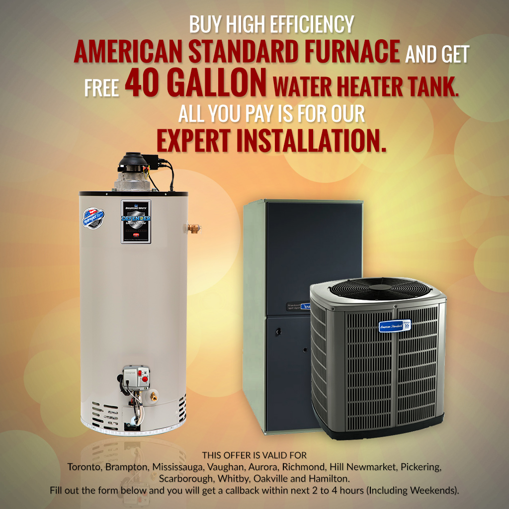 Get FREE 40 Gallon Water Heater Tank Toronto